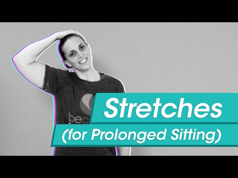 Stretches for Prolonged Sitting